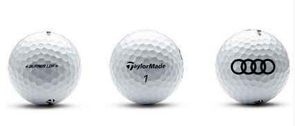 Golfball TaylorMade Burner,3er, Golf