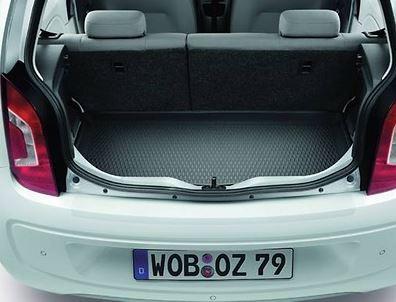 Gepäckraumeinlage Schwarz, Fahrzeuge mit variablen Ladeboden
