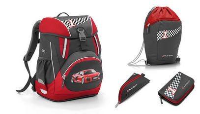 Schulrucksack-Set, Audi Sport