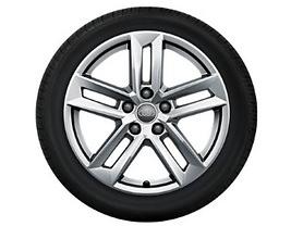 Audi A4 Winterkompletträder im 5-Parallelspeichen-Design, brillantsilber, 7 J x 17, 225/50 R 17 98H