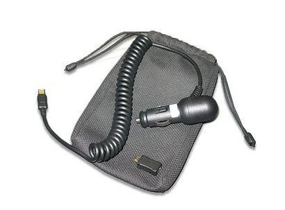 Universelles automotives Ladekabel (Zigarettenanzünder auf Mini-USB) inkl. Micro-USB Adapter und Auf
