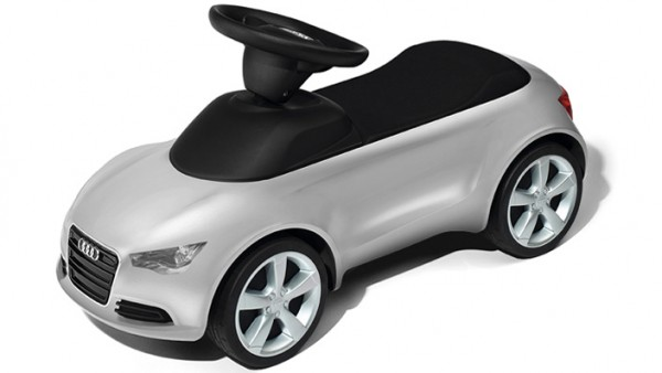 Kinder Audi Junior quattro, silber