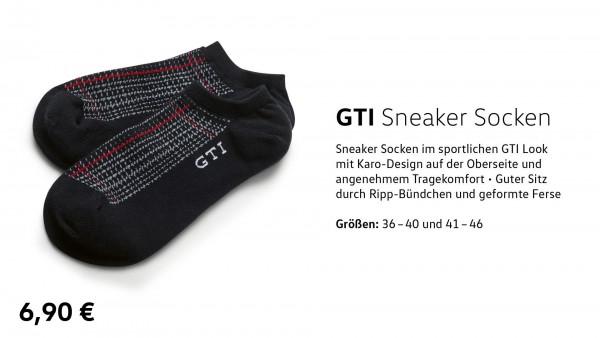 GTI Sneaker Socken 36-40