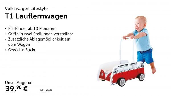 Spielzeug Lauflernwagen T1