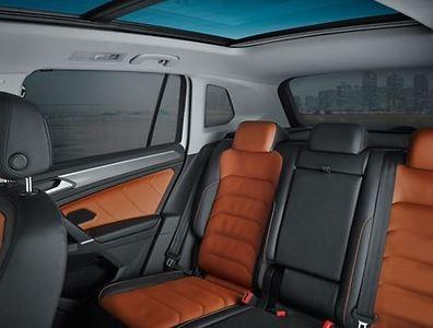 Sonnenschutz (Satz) Türen hinten, Kofferraum und Heckscheibe