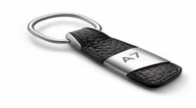 Schlüsselanhänger Leder, A7
