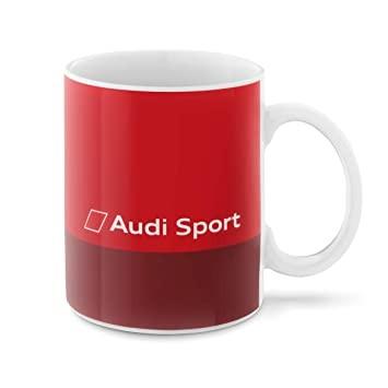 Audi Sport Tasse rot