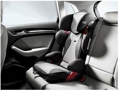 """Audi Kindersitz youngster plus, 15-36 kg, titangrau/schwarz """"verbesserter Seitenaufprallschutz"""""""