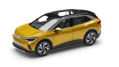 Modellauto 1:43, ID.4, Honey Yellow