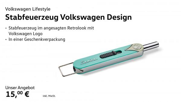 Stabfeuerzeug Volkswagen Design