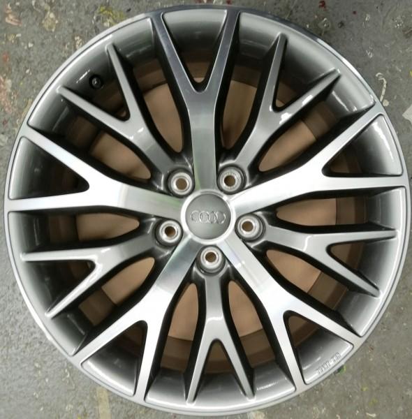 4 Aluminium-Gussrad im Y-Speichen-Design anthrazit silber, 8 J x 18