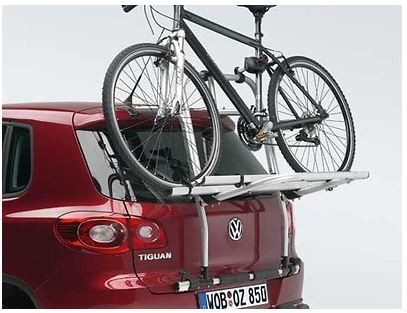 Fahrradträger für die Heckklappe max. 2 Fahrräder