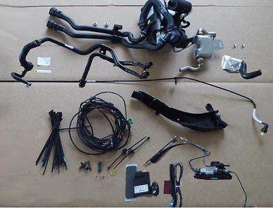 Standheizung TDI, 1,6L 88KW, 2,0L 110/140KW, ohne Motorvorwärmung, nur Linkslenker