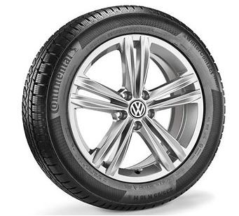 235/55 R18 100H, RDKS, Continental WinterContact TS 850 P, Sebring, Sterling Silber