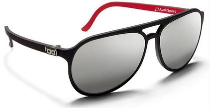 Sonnenbrille G3, Gloryfy, Audi Sport, schwarz matt