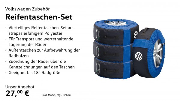 Reifentaschen-Set