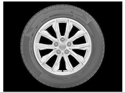 Audi Q5 Winterkomplettrad im 10-Speichen-Design, brillantsilber, 7 J x 17, 235/65 R 17 104H