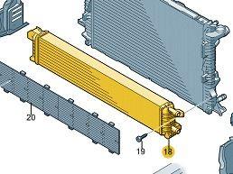 Zusatzkühler für Kühlmittel A6 / A7 / Q5