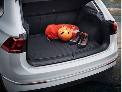 Gepäckraumeinlage für Fahrzeuge mit variablen Ladeboden fü ( Tiguan )