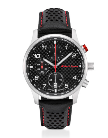 Audi Sport Chronograph Carbon, Herren