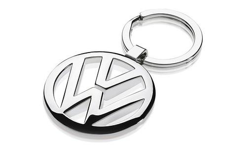 Schlüsselanhänger VW-Logo silber