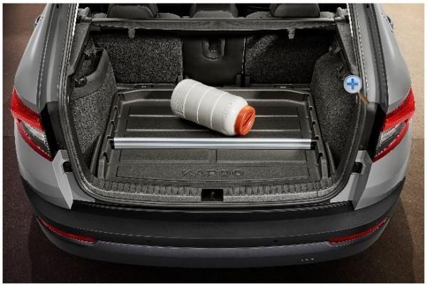Kofferraumwanne mit erhöhtem Rand für KAROQ (NU)