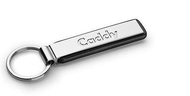Schlüsselanhänger Schriftzug Caddy