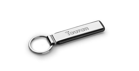 """Schlüsselanhänger """"Touran"""", silber"""