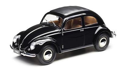 Modellauto 1:18; Schwarz; Käfer