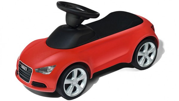 Kinder Audi Junior quattro, rot