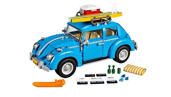 Spielzeug Lego Käfer in blau