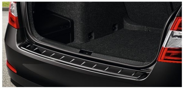 Heckschutzleiste, Octavia III Lim. Facelift in schwarz