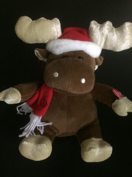 Singender Weihnachtselch