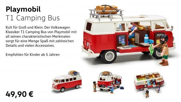 Playmobil T1 Camping Bus