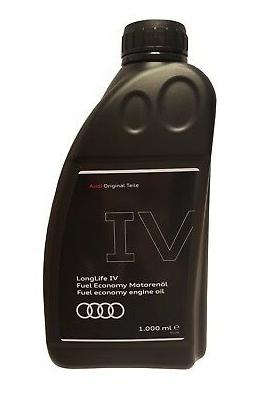 Audi Longlife IV Motoröl Original 1 Liter Flasche Ölnorm 50800 50900