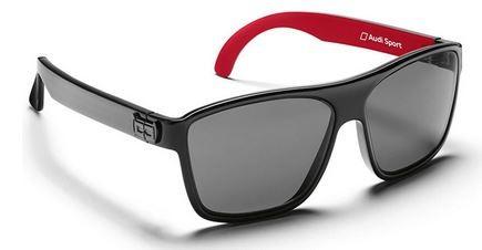 Sonnenbrille G2, Gloryfy, Audi Sport, schwarz