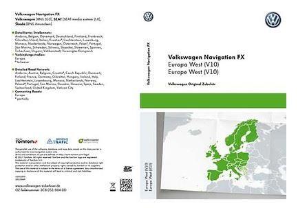 SD-Karte für Radio-Navigationssystem