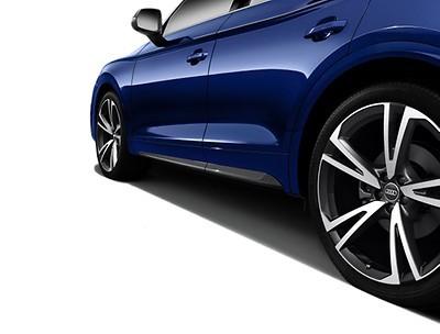 1 Satz Türleisten mit Carboneinleger für Audi Q5 (FY)