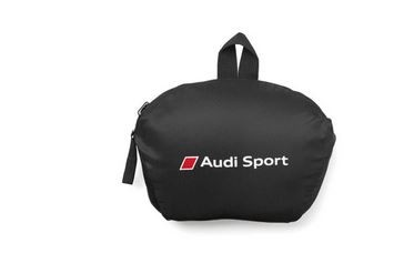 Rucksack faltbar, Audi Sport, schwarz