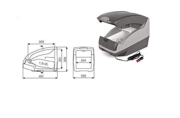 Autokühlbox (Inhalt 15l)